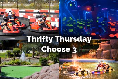 Thursday Deals At Adventure Park in Visalia