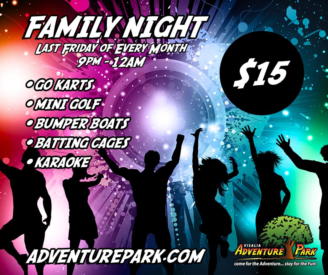 Family Deals At Adventure Park In Visalia