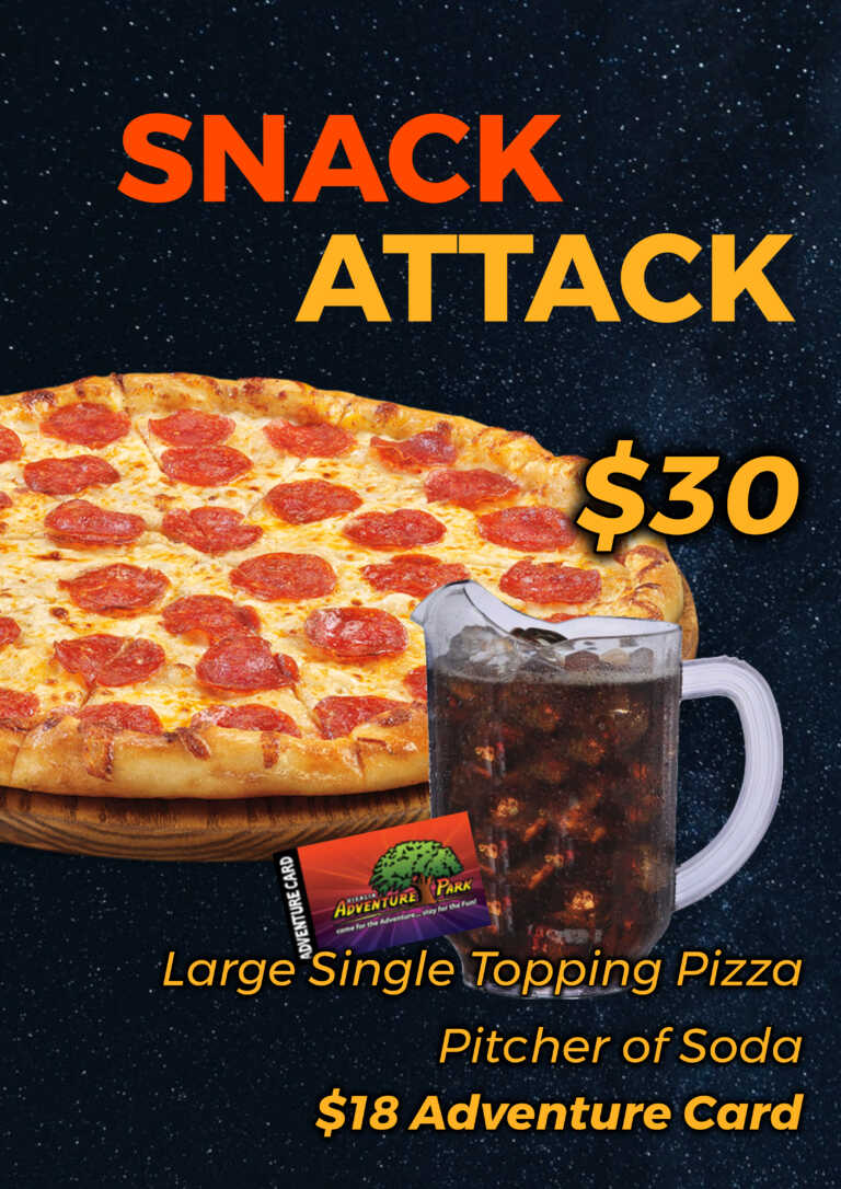 Pizza Deals At Adventure Park In Visalia